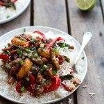 30 Minute Sweet Asian Chili Pork, Ginger and Tangerine Stir Fry-11