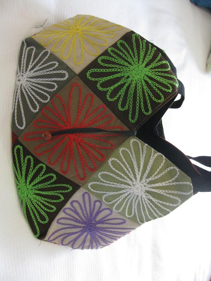 Patchwork Handbag $20 + P  www.facebook.com/vshandbagsandaccessories