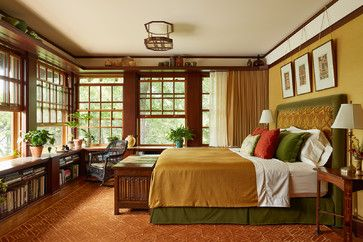 Craftsman Craftsman Bedroom Design Ideas, Pictures, Remodel and Decor