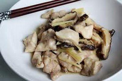 Steamed Chicken Mushroom