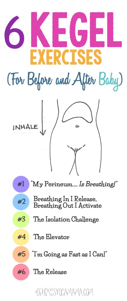 6 Kegel Exercises (For Before and After Baby)