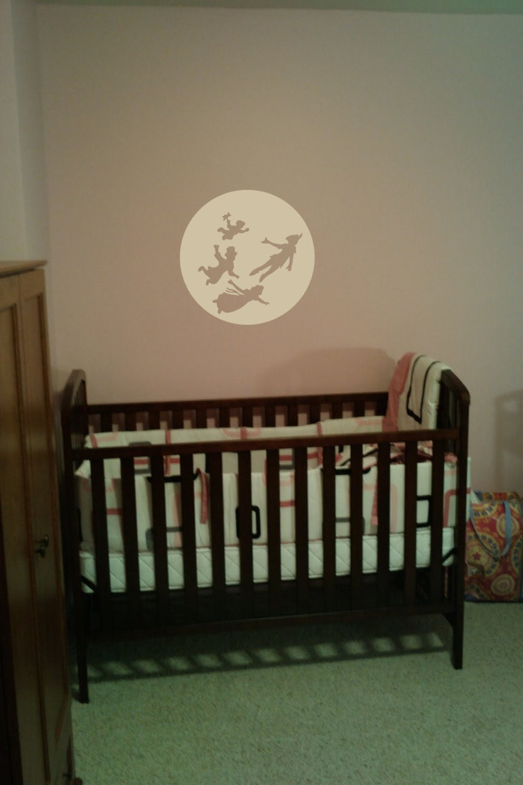 wall decal peter pan captain hook wendy john michael disney lost boys room decor. Black Bedroom Furniture Sets. Home Design Ideas