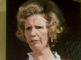 """Episode 39: Whoops! - Mrs. Enwright, Douglas' (Chuffer) wife (Paula Tilbrook): """"Who's Chuffer when he's at home?"""""""