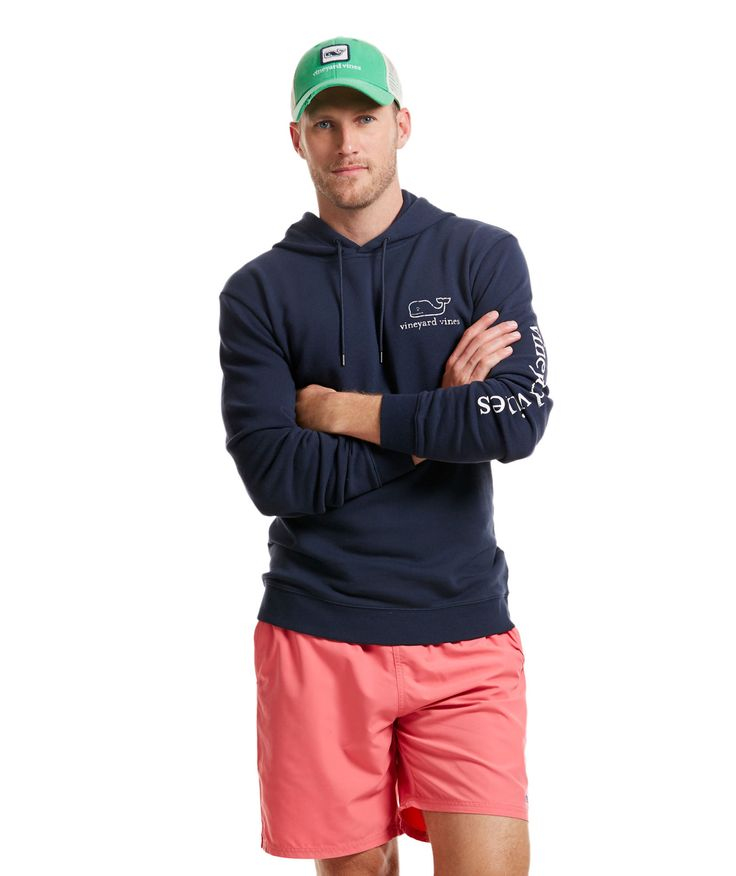 Vineyard Vines French Terry Vintage Whale Hoodie - Every Day Should Feel This…