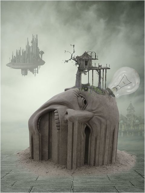58 best images about surrealism on Pinterest | Photoshop tutorial ...