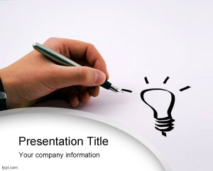 Free business idea for PowerPoint presentations on startups