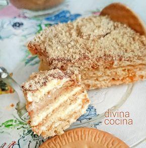 Esta tarta de galletas portuguesa (Bolo de Bolacha) es un dulce muy casero y fácil de preparar, perfecto como postre para amantes del café.