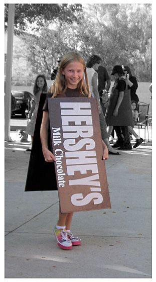 Hershey Bar Costume | Family Holloween | Pinterest | Bar ...