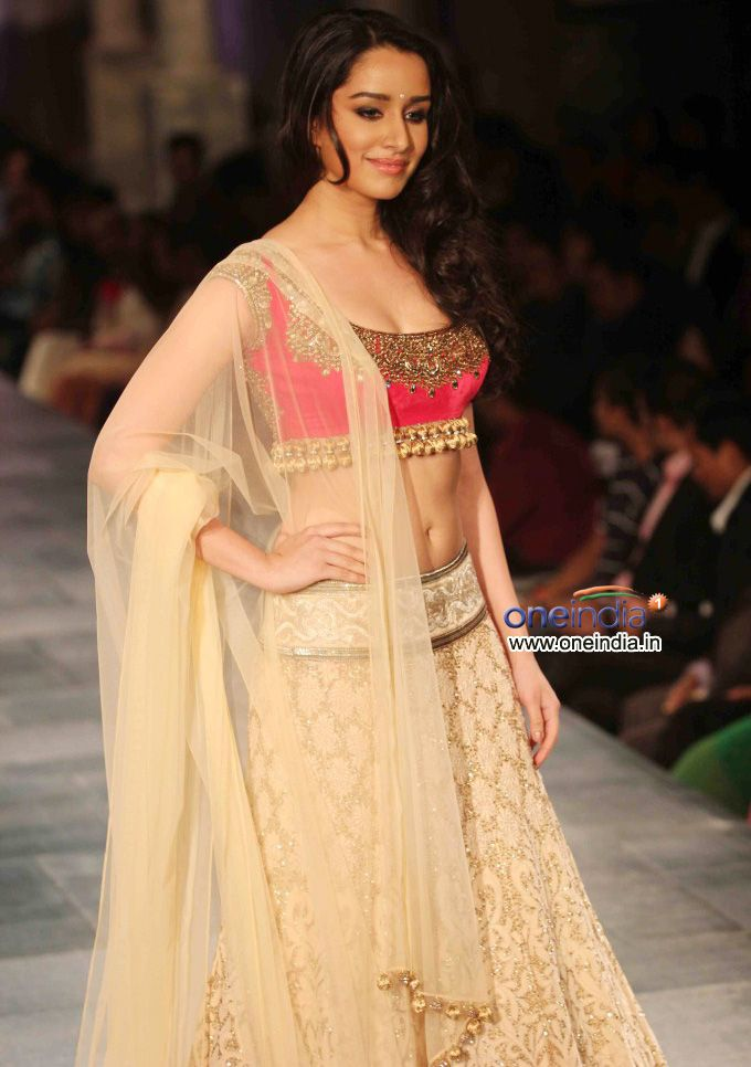 Shraddha Kapoor at Mijwan Sonnets in Fabric Fashion Show, Sept, 2012 by Manish Malhotra to raise funds for brilliant Mijwan Welfare Society run by Actor & Activist Shabana Azmi https://twitter.com/AzmiShabana founded by her late father Poet Activist Kaifi Azmi   http://www.ketto.org/fundraiser_home.php?id=Fund134