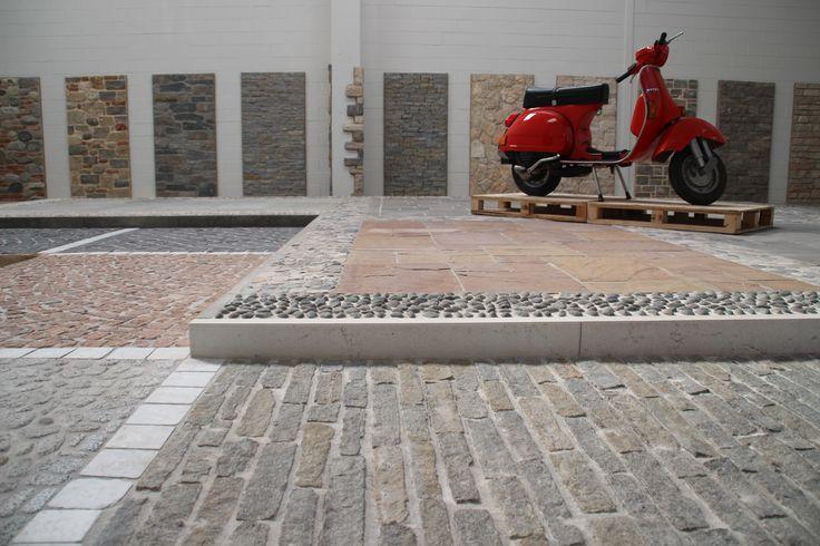 #showroom #mornicoalserio #palosco #bergamo #brescia #pavimenti #rivestimenti #stone #pietra #muro #architettura #urban #design