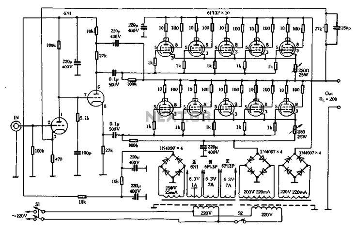 Both Tube Otl Amplifier 01