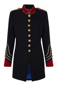 chaqueta militar la condesa