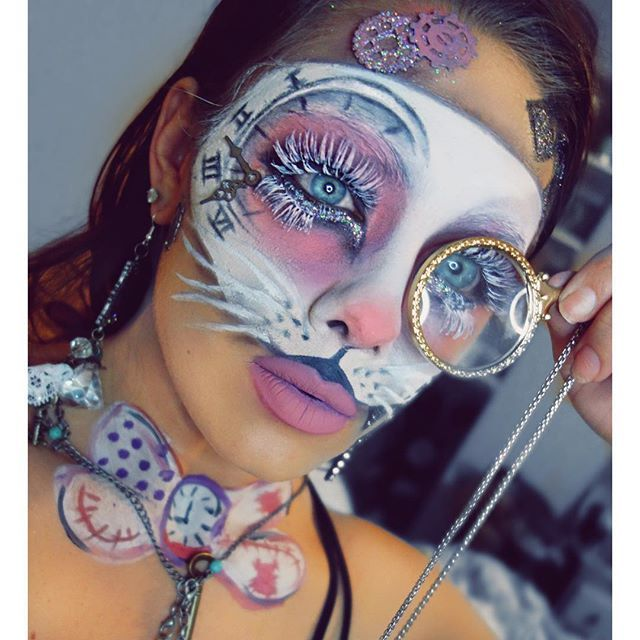 Best 25+ White rabbit makeup ideas on Pinterest | White rabbit ...