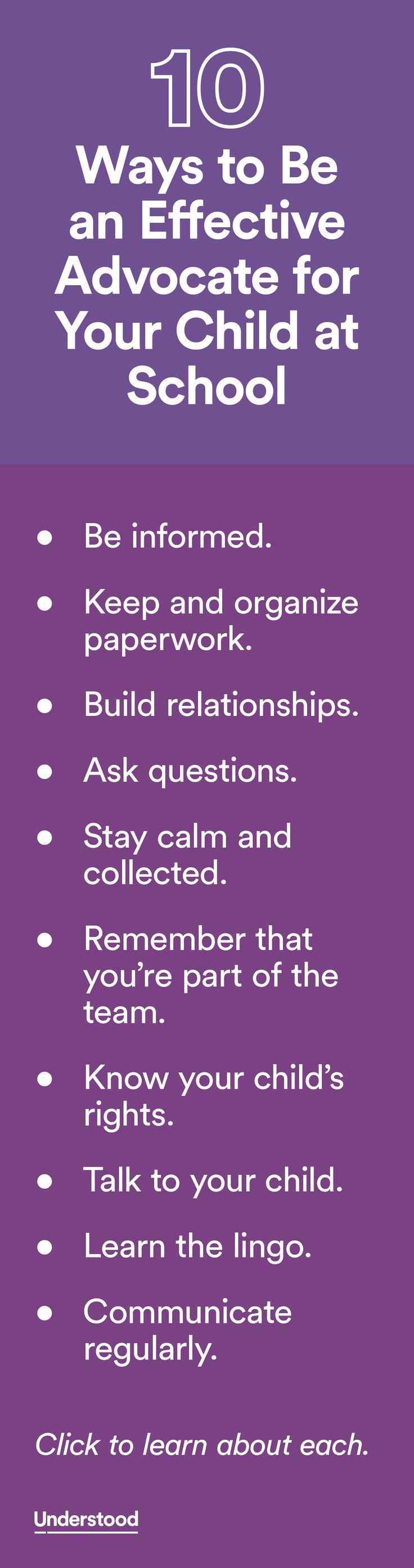 17 best images about back to school teaching 10 ways to be an effective advocate for your child at school
