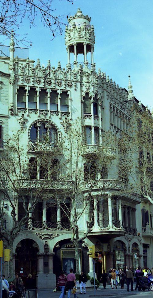 Casa Lleó i Morera, Lluís Domènech i Montaner Barcelona, Spanien