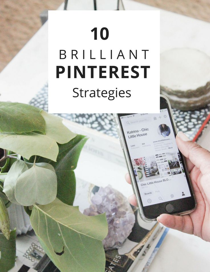 10 Brilliant Pinterest Strategies — Chic Little House