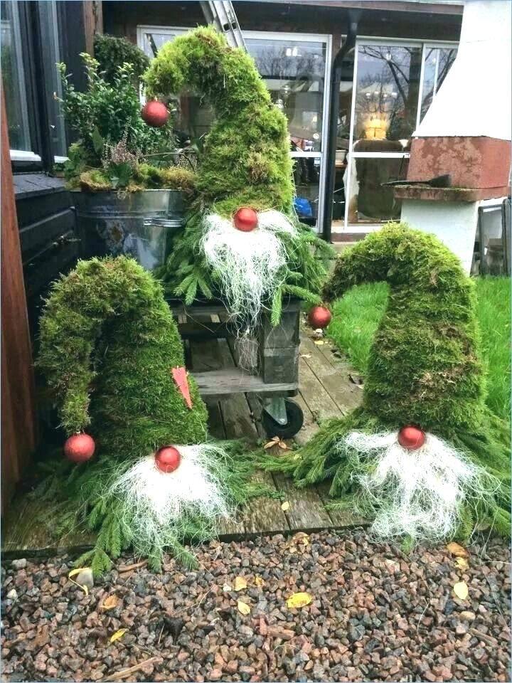 Weihnachtsdeko Aussen Basteln
