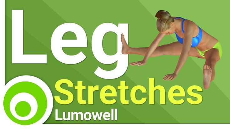 Do this leg stretches routine for increasing flexibility and muscle range of…