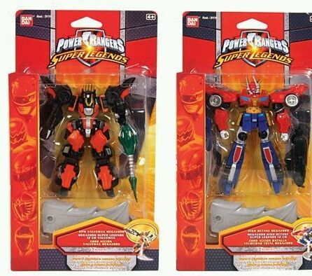 RARE Power Rangers Super Legends RPM Valvemax and High Octane Megazord Zord | eBay