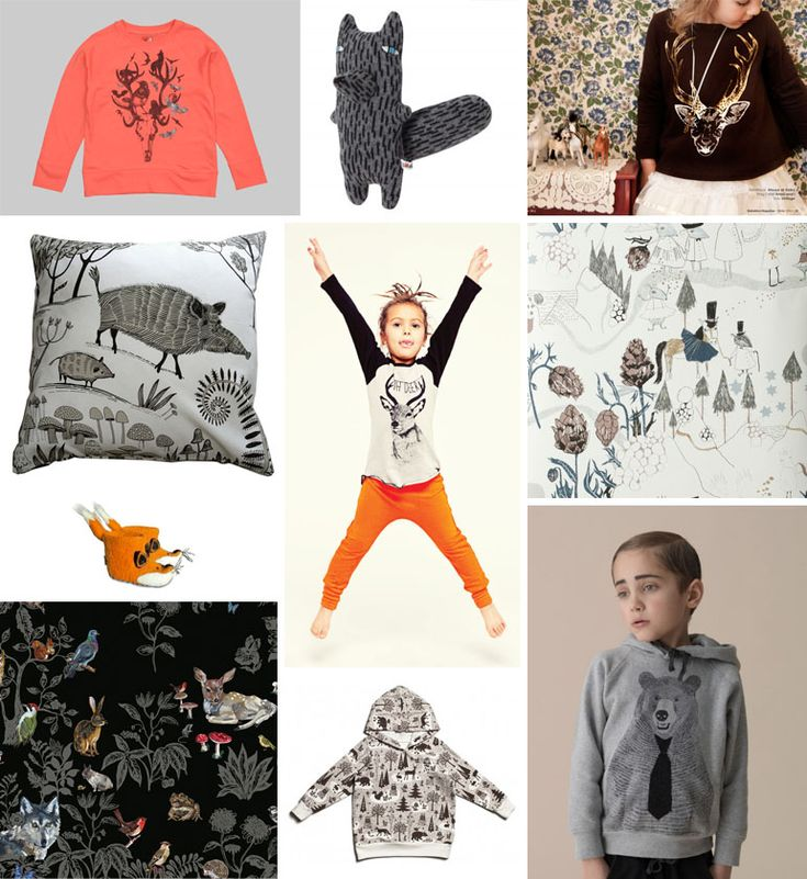 Children's trend – Wild Forest Creatures – patternobserver, february 2013: