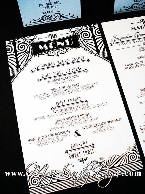 22 best images about art nouveau menus on pinterest for Artistic cuisine menu