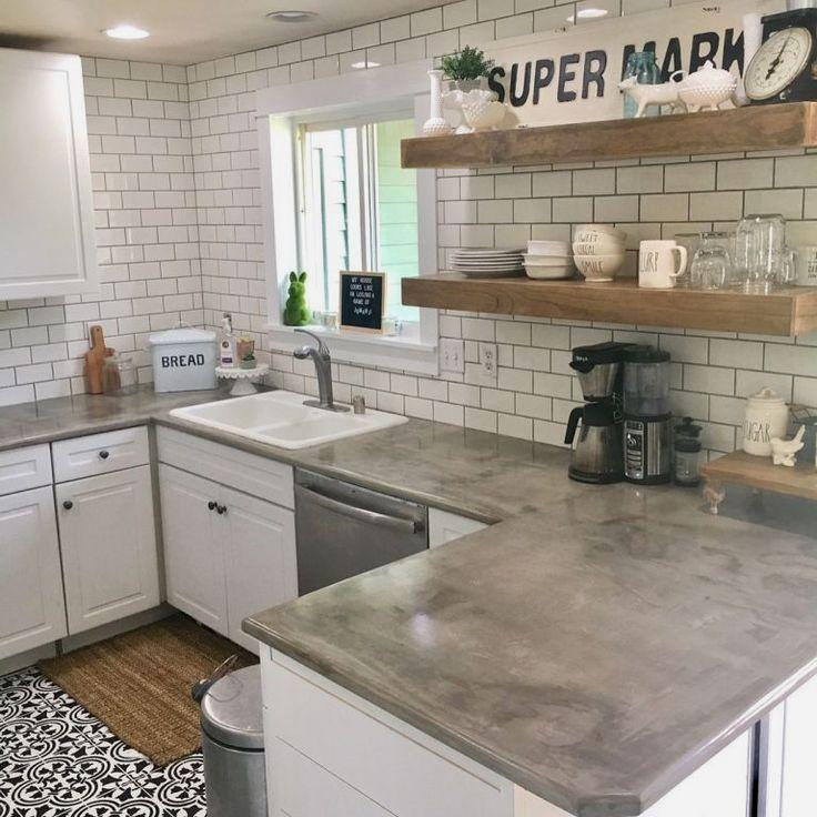 Diy Kitchen Countertop Ideas Kitchencountertops Cheap Kitchen