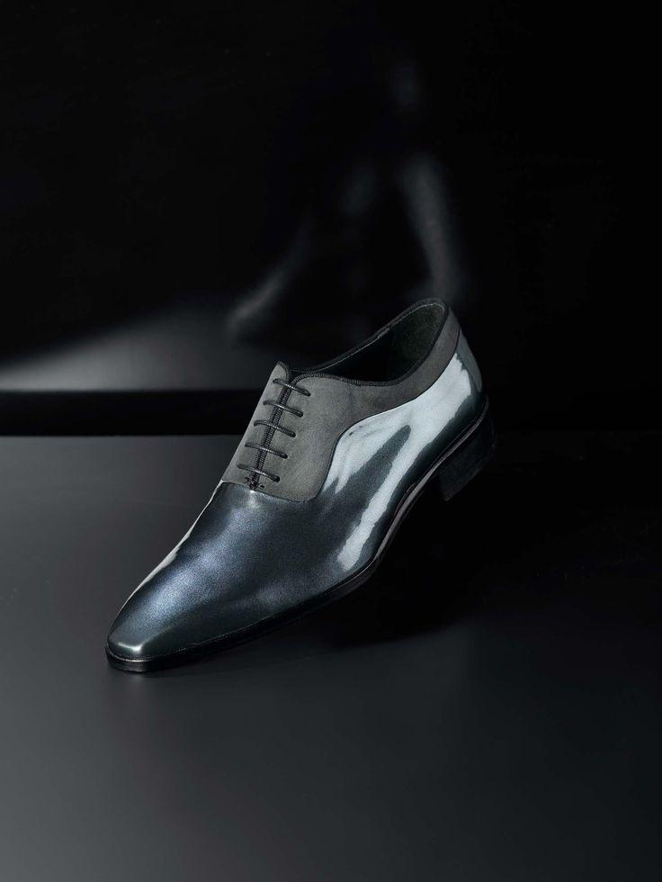 Calzado para novio de la firma Sandro Sellini.