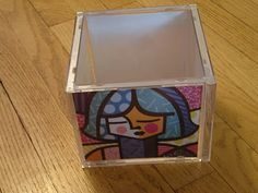 Black Kat's Design: It's Craft Time! - CD Case Cube Frame