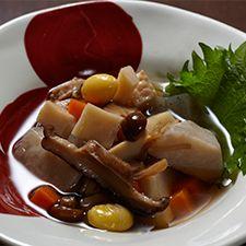 越後料理のっぺ650円へぎそば匠  (へぎそばたくみ)東京へぎそば 匠 TAKUMI