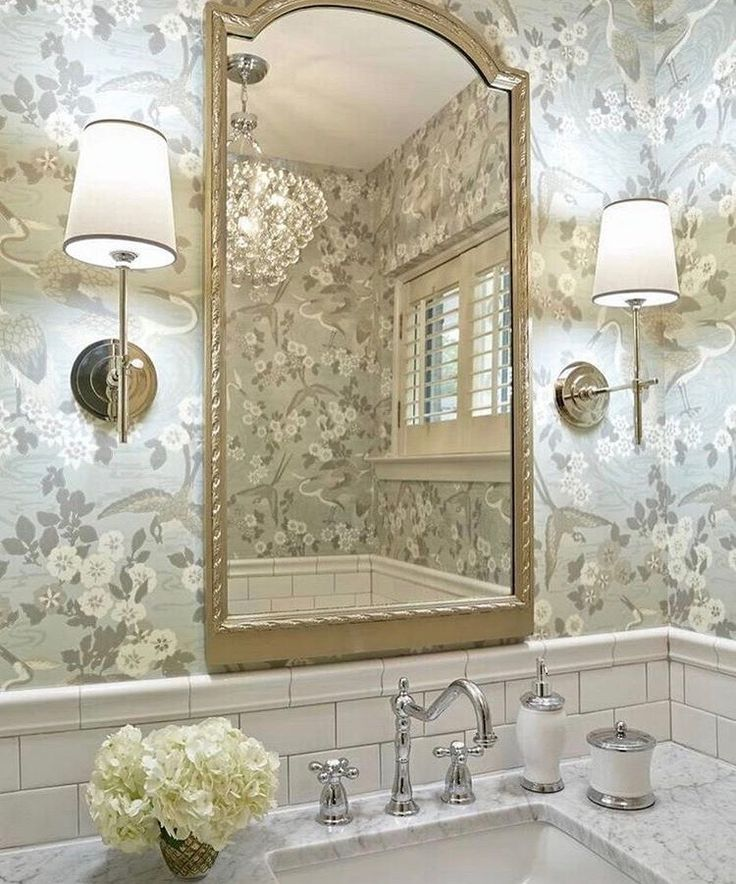 Pin by ellie De Lia on powder room Beautiful bathrooms
