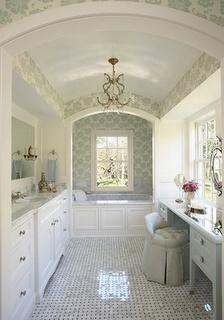 BathroomsNature Lights, Floors, Dream Bathrooms, Vanities, Dreams Bathroom, Master Bathrooms, Barrels Ceilings, Master Baths, Beautiful Bathrooms