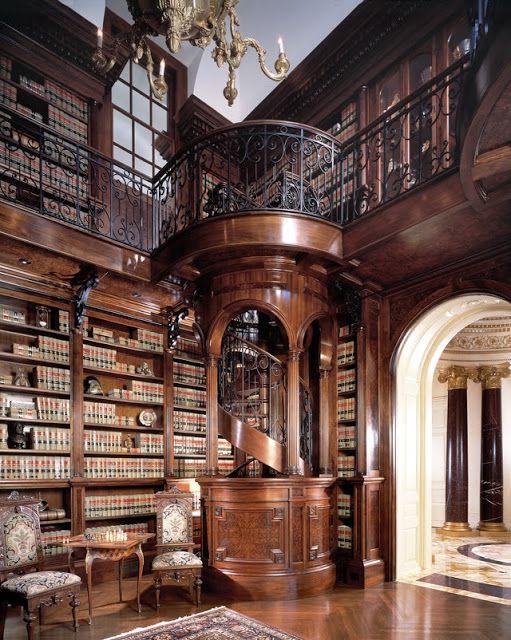 bluepueblo:  Library Spiral Staircase, Atlanta, Georgia photo via theworld