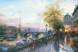 Thomas Kinkade Paris