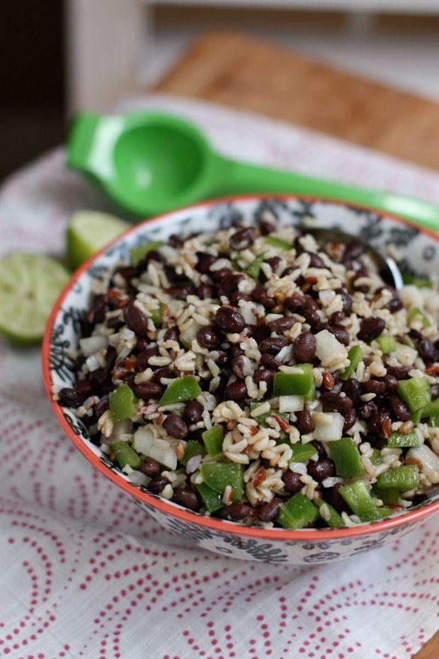 Black Bean and Rice Salad   Aggie's Kitchen