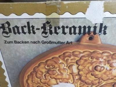 Backformen - EIN BLUMENSTRAUSS ZUM ESSEN BACKFORM KERAMIK TOP - ein Designerstück von ausBoehmensHainundFlur bei DaWanda