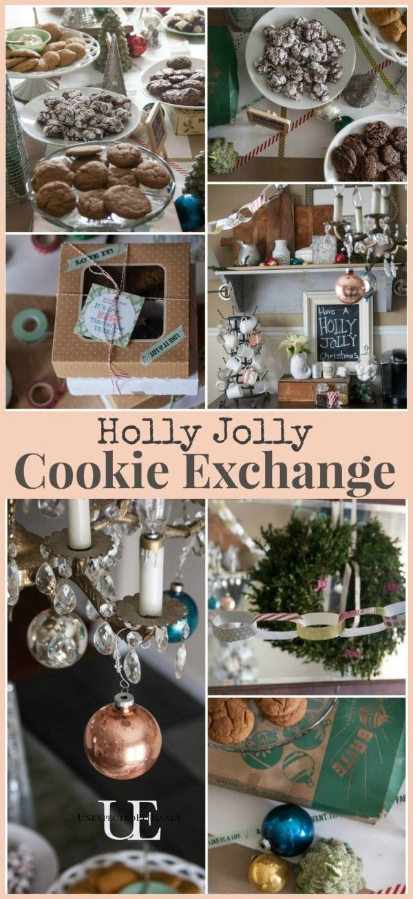 Holly Jolly Cookie Exchange – Celebrate with your family this Christmas season while having fun baking and exchanging cookie recipes.