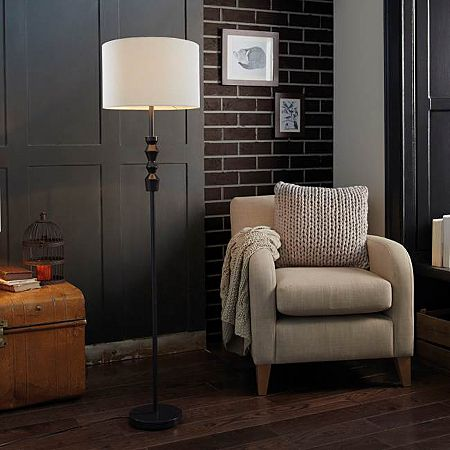 12 best lamps images on pinterest floor standing lamps standard george home natural woven floor lamp 40 mozeypictures Image collections