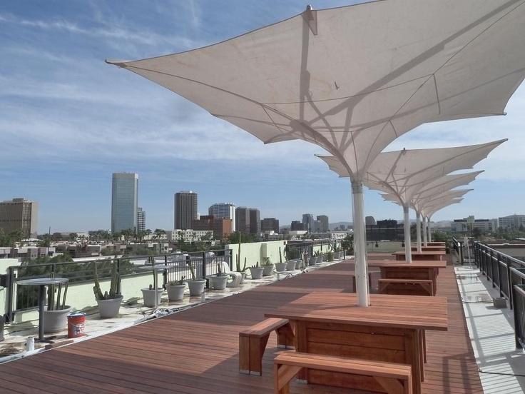 The clarendon hotel phoenix az rooftop views pinterest for Hotels 85016