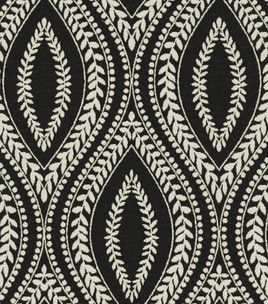 Home Decor Fabrics Waverly Carino / Blackbird