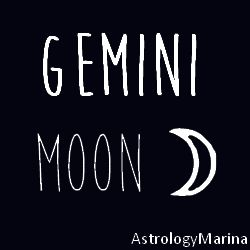Gemini Moon; The Questioner, Motto: What's new??