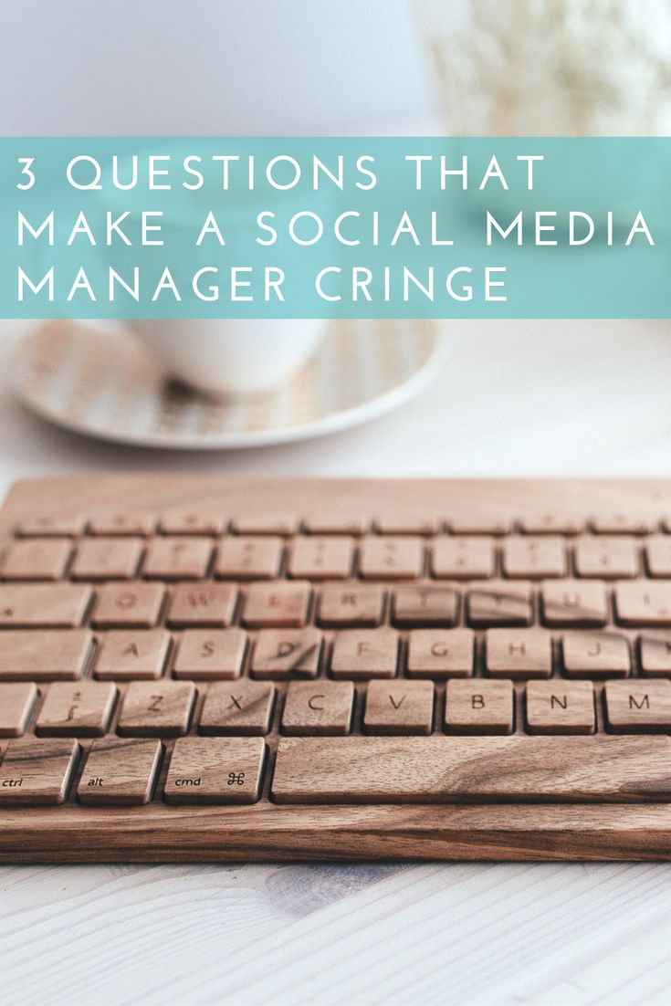 NOW ON THE BLOG: There's 3 questions that every social media manager hates to hear from their bosses or their clients. As a social media marketer myself, I twitch every time I hear these questions. But the reality is - they get asked. Click here to read the full post: http://www.keepsmyelin.ca/social-media/3-questions-that-make-a-social-media-manager-cringe/