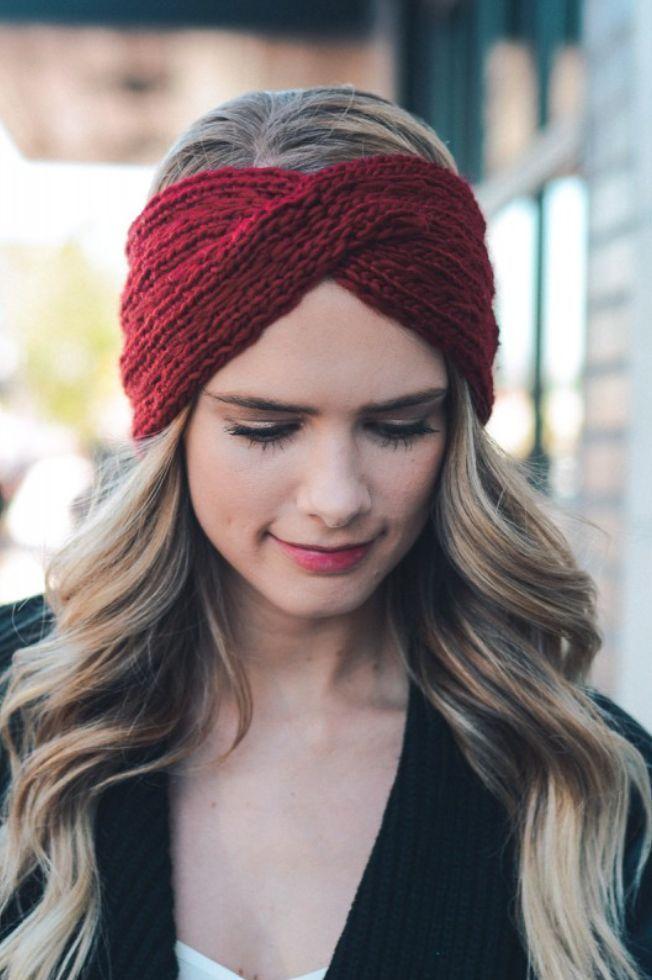 Perfect as a headband and ear warmer! 100% acrylic.