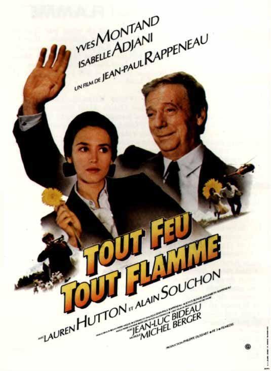 """"""" Tout feu tout flamme"""" de Jean-Paul Rappeneau  avec yves Montand et Isabelle Adjani- 1982"""