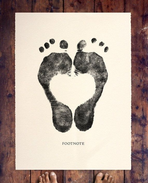 that's a tattoo idea - with little one's feet