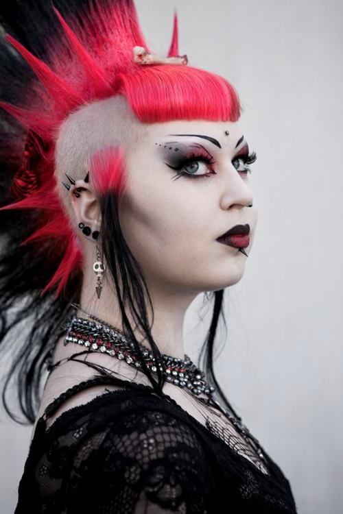 Deathrock Look Fashion Deathrock Pinterest Makeup