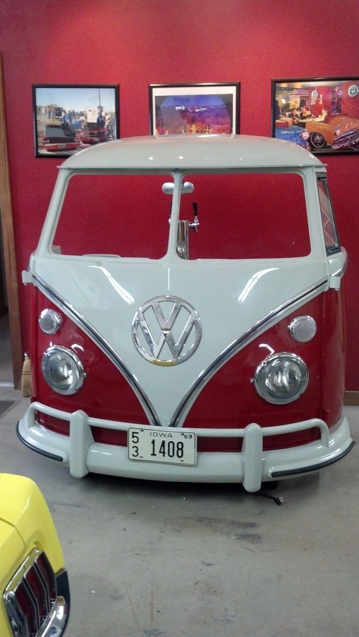 Vw split bar man cave pinterest automotive furniture and men cave