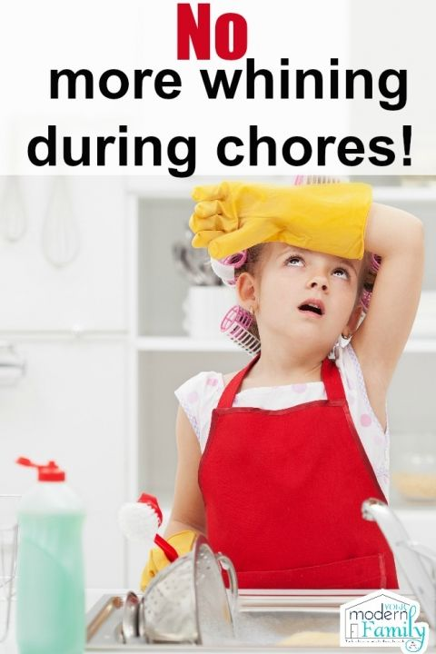 How to get your kids to do chores without whining
