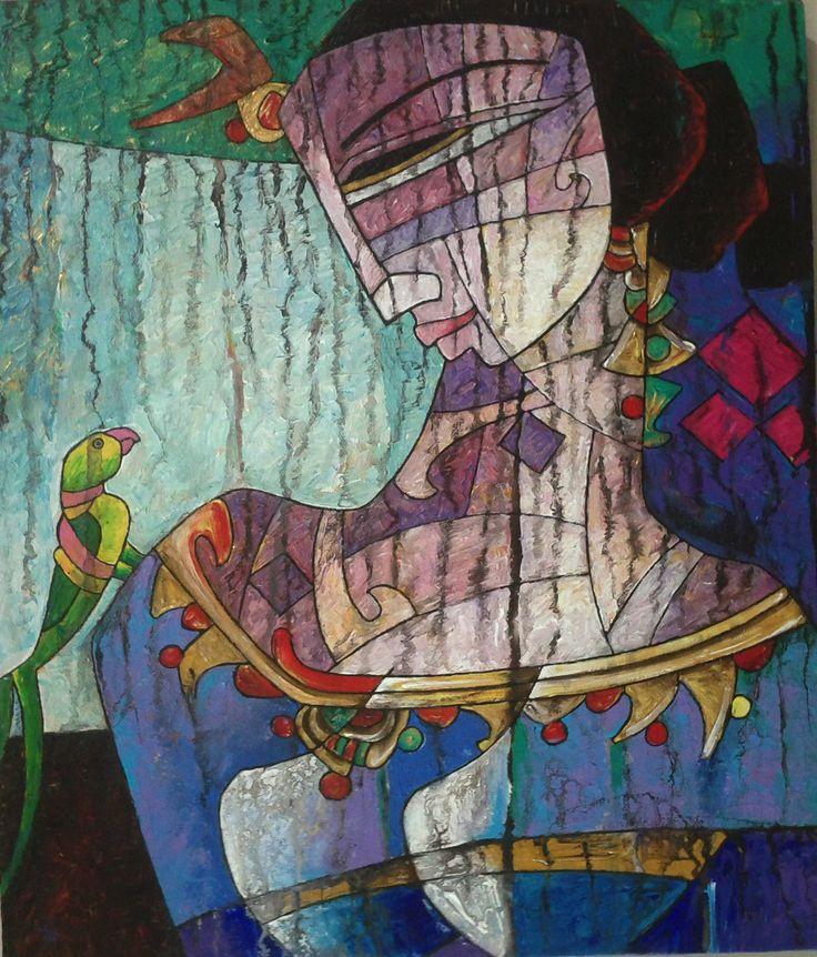 Pakistani Artist A.S Rind