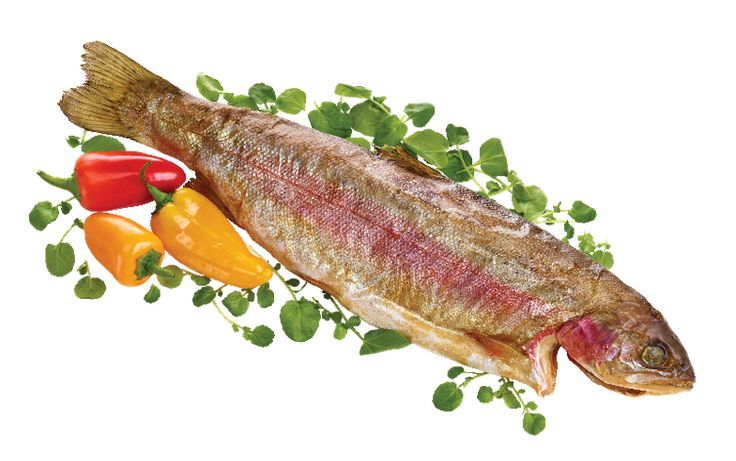 Whole Hot-Smoked Rainbow Trout from #YummyMarket #Trout