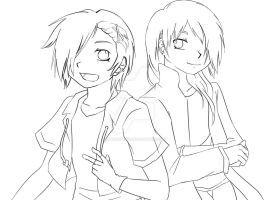 Shiro And Hiro by ZANNA-Nezuko
